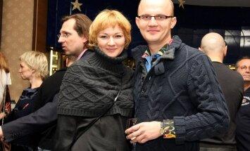 Rasa Krasauskaitė-Jakilaitienė ir Edmundas Jakilaitis