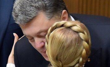 Petro Porošenka, Julija Tymošenko