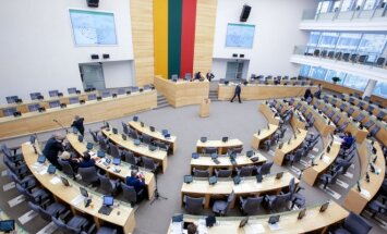 Seimas' main hall