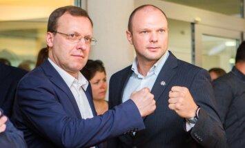 Naglis Puteikis and Kristupas Krivickas