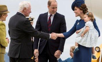 Williamas ir Kate su vaikais