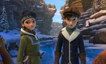 Kadras iš filmo Sniego karalienė 3: ugnis ir ledas