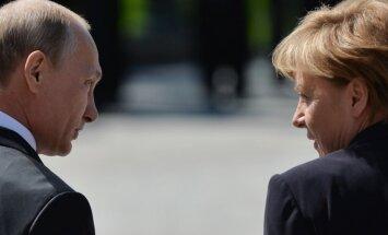 Angela Merkel, Vladimiras Putinas