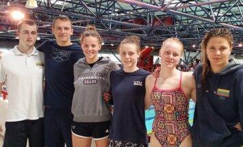 Lietuvos plaukikai Latvijos čempionate