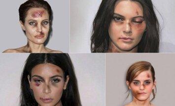 Angelina Jolie, Kendall Jenner, Kim Kardashian, Emma Watson