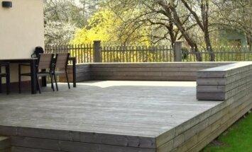 Lauko terasos įrengimas: etapai ir specialistų komentarai