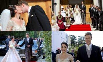 Albanijos princo Leka'os ir Zaharios vestuvės