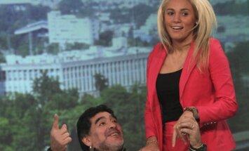 Diego Maradona ir Rocio Oliva