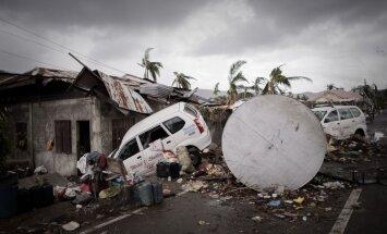 Dar vienas žemės drebėjimas supurtė Filipinus