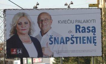 Rasa Šnapštienė ir Visvaldas Matijošaitis