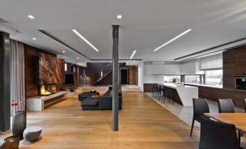 Projektas atspindi moderniojo stiliaus idėją, kurią papildo natūralios, ilgaamžės medžiagos