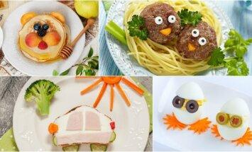 Gaminame vaikams: tokių patiekalų mažieji tikrai neatsisakys