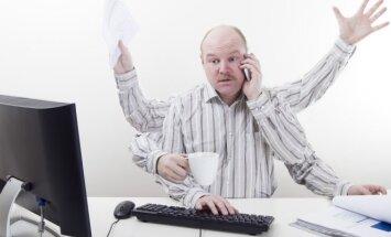 Multitaskingas, Daugiaprogramis režimas, stresas, įtampa, darbas