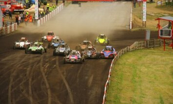 Europos autokroso čempionato etapas Vilkyčiuose