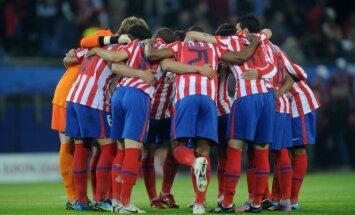 Madrido Atletico klubo futbolininkai