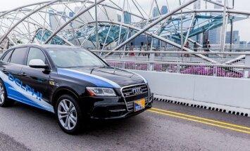 Anksčiau Delphi eksperimentavo su Audi SQ5 modeliu