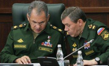 Sergejus Šoigu, Valerijus Gerasimovas