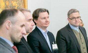 Pranas Kuisys, Petras Masiulis, Kęstutis Šliužas, Vitas Vasiliauskas