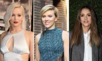 Jennifer Lawrence, Scarlett Johansson, Jessica Alba