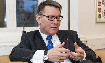 The Dutch Ambassador Bert Van der Lingen in Vilnius   Photo Ludo Segers