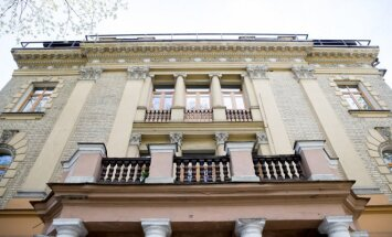 Pastatas Kosciuškos g., kur įsikūrė Prekybos, pramonės ir amatų rūmai