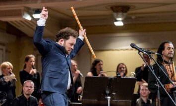 S.Petreikio koncerto akimirkos (E.Levin nuotr.)