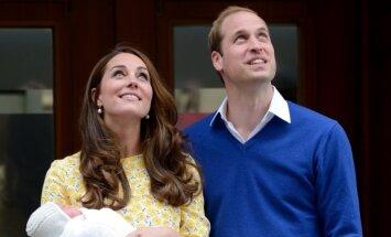 Kate Middleton ir princas Williamas