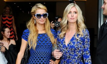 Paris Hilton ir Nicky Hilton