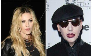 Madonna ir M. Mansonas