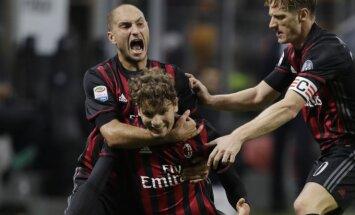 Milano futbolininkų triumfas