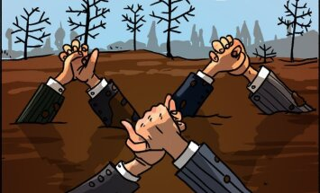 Partiečių ir bičiuliai šiltose valstybinių įmonių vietose