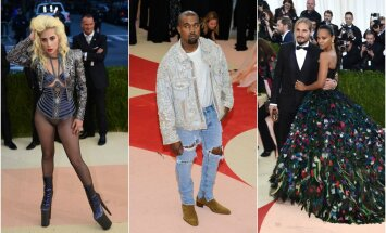 Lady Gaga, Kanye West, Zoe Saldana