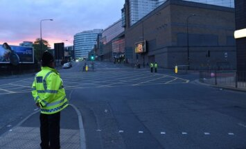 Manchester after the terrorist attack