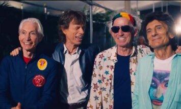 Kadras iš filmo OLE OLE OLE Rolling Stones