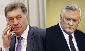 Algirdas Butkevičius and Algirdas Brazauskas