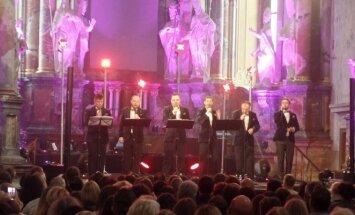 """Vyrų vokalinės grupės """"Quorum"""" koncertas"""