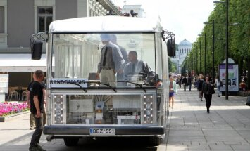 Permatomą elektrinį troleibusą-autobusą Dancer įmonė Vėjo projektai pristatė praeitą pavasarį
