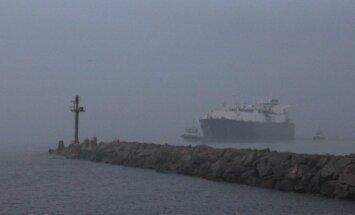 Į Klaipėdos uostą atplaukė dujovežis Golar Seal