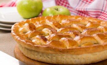 Pyragas su varške ir obuoliene