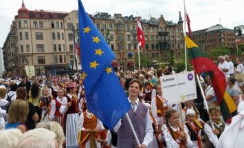 Folk groups from Lithuania took part in international folk festival EUROPEADE in Sweden