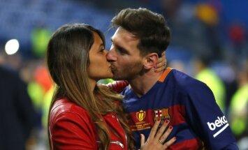 Antonella Roccuzzo ir Lionelis Messi