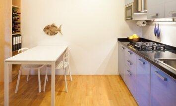 Patarimai, kaip sukurti patogesnę virtuvę