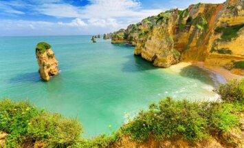 Paplūdimys Algarvėje, Portugalija