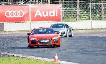 Audi renginys Bikerniekuose