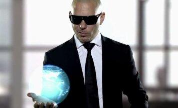 Kadras iš Pitbull dainos vaizdo klipo