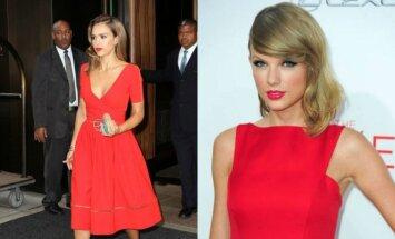 Jessica Alba, Taylor Swift