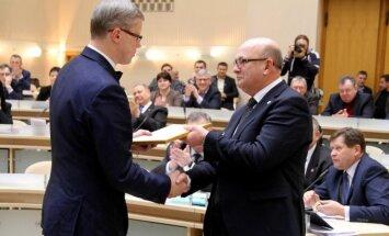 Andrius Kupčinskas, Visvaldas Matijošaitis