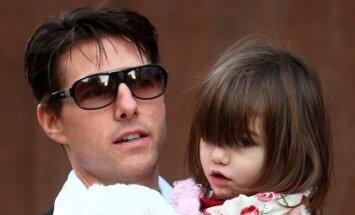 Suri Cruise ir Tomas Cruise'as