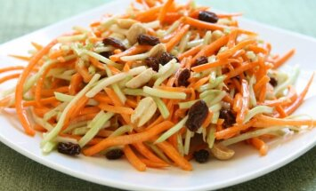 Patobulintos morkų salotos