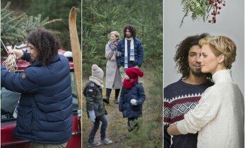 Živilė ir Victoras Diawaros su vaikais (Eurovaistinės nuotr.)
